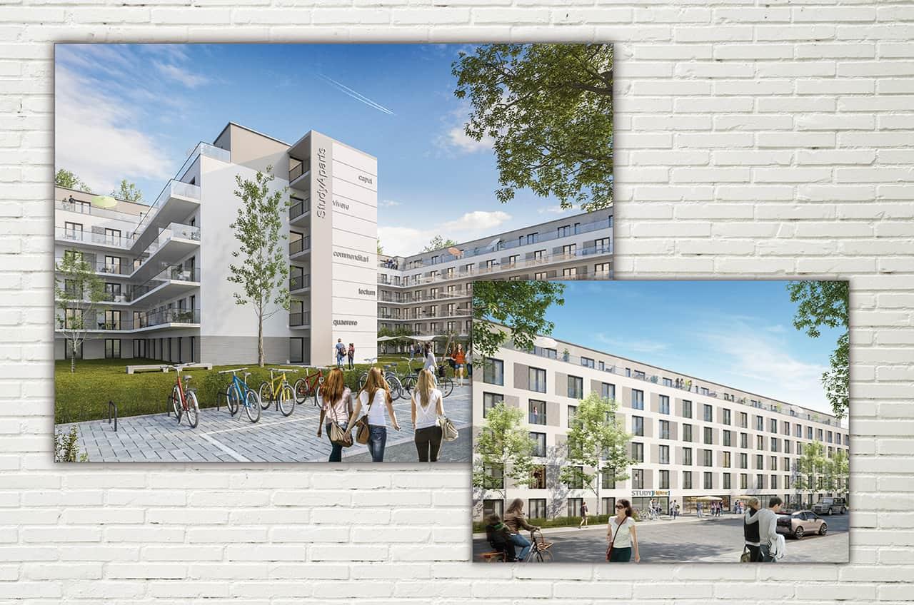 3d Visualisierung Berlin central berlin wohnen gmbh contactblue kommunikation marketing